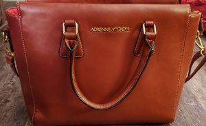Adrienne Vittadini leather  laptop carrier